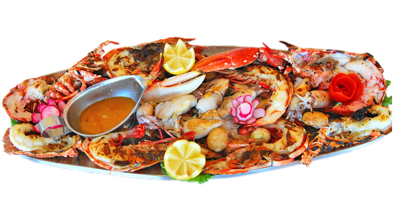 Grilled Seafood Platter (2 Pax)
